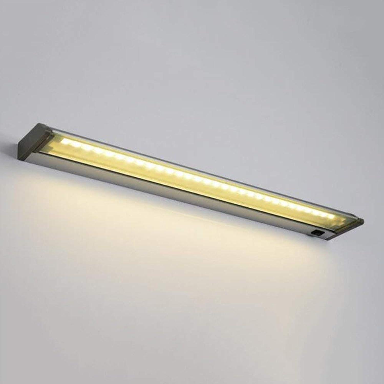 Badewanne Spiegel Lampen - Badezimmer Beleuchtung Aluminium Spiegel Vorne Licht Led Wasserdichte Superhelle Winkel Verstellbare Wandleuchte - - Make-Up-Spiegel Scheinwerfer (Farbe  Warmes Li