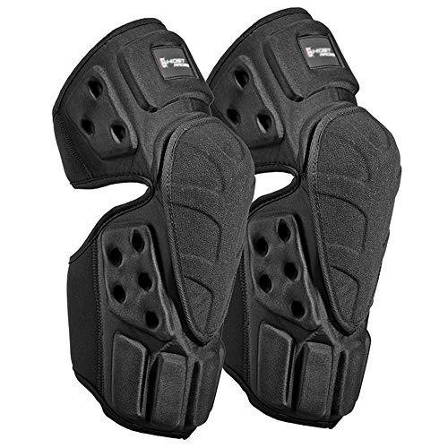 SD La protección de Motocross Coderas, Bicicleta de montaña de competición de Skate Almohadillas de Las piernas de la Rodilla, Almohadillas de protección al Aire Libre Montar (1 par)