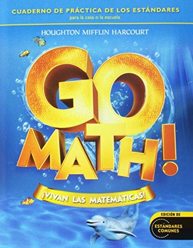Go Math! Vivan Las Matemáticas: Student Practice Book Grade K