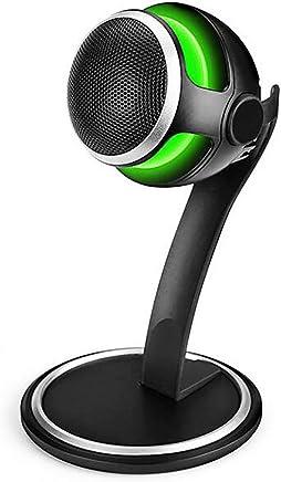 HYFZY Microfono, USB Desktop Computer Notebook Microfono Gioco vocale Mangiare Pollo Microfono Registrazione Live QQ Home PS4 Microfono - Trova i prezzi più bassi