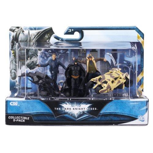 Batman 46807 Batman Figuren Set - Batman, Bane, The Bat, Tumbler und Robin