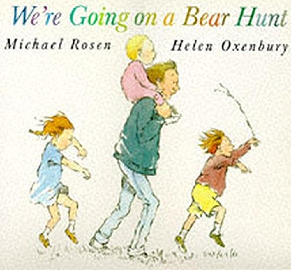 内部気分が悪い泣いているWe're Going on a Bear Hunt (Big Books)