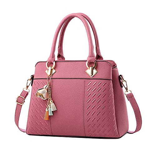 """Material:PU Leather//Size:31cm(L)x14cm(W)x23cm(H)/12.20(L)x5.51(W)x9.06(H)"""" EXCELLENT CRAFTMANSHIP:clean stitching and high quality metal accessories Perfect for holding small stuffs, such as your cellphone, wallet, papers, tissue, cosmetic and so on..."""