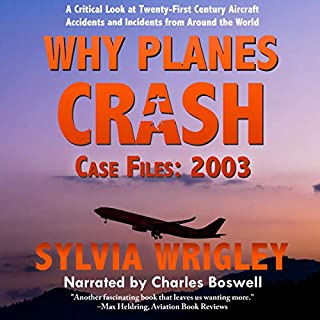 Why Planes Crash Case Files: 2003 cover art