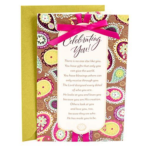 Hallmark Mahogany Religious Birthday Card for Her (Celebrating You)