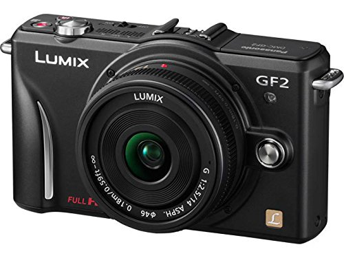 Check Out This Panasonic Lumix DMC-GF2 12 MP Micro Four-Thirds Mirrorless Digital Camera with 3.0-Inch Touch-Screen LCD and 14-42mm Lens (Black)