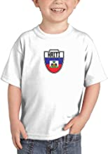 Haiti - Country Soccer Crest Infant/Toddler Cotton Jersey T-Shirt