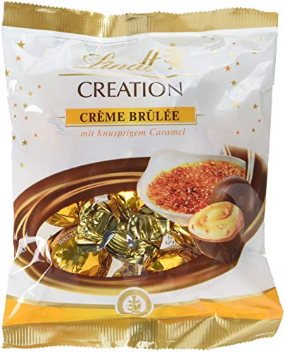 Lindt & Sprüngli Creation Crème Brulée, 10er Pack (10 x 90 g)