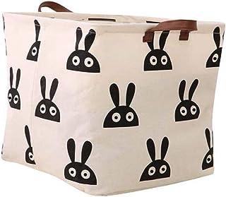MJY Poubelle sale Points Tissu de coton Boîtes de rangement pliantes Panier à linge Nordic Boîte de rangement pour lettre ...
