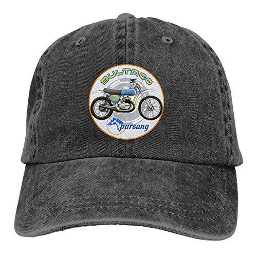 HSRB Plincally Bultaco Pursang Classic Casquette Baseballcaps Black Cotton Adjustable Unisex Hat Gift