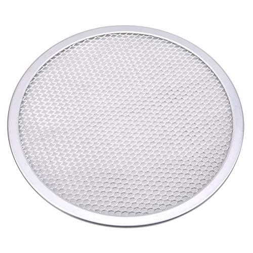 Flybloom Aluminium Mesh Grill Pizza Bildschirm Runde Backblech Net Küchenwerkzeuge Backöfen Kit (Stil 1)