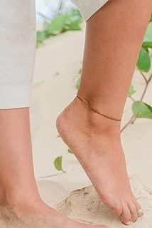 Carnelian Ankle Bracelet. Carnelian Anklet. Orange Anklet. Red Anklet. Handmade Jewelry. Gemstone Anklet. Crystal Anklet. July Birthstone.