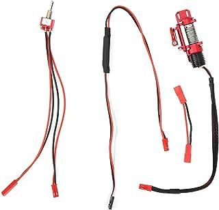 VGEBY RC Winch Controller, Metal & Plastic Control Remoto Winch Remote Controller Receptor Controlador Manual RC Crawler Repuestos de actualización