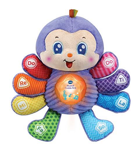 VTech Juguete Musical para bebé, Juguete Educativo con Sonidos y Frases, Juguete Interactivo para bebé para Juego sensorial, Regalo Ideal para Navidad para bebés y niños pequeños de 6 Meses a 3 años