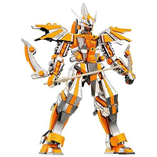 3D Metal Puzzle, Crescent Blade DIY Assemblare Model Kit di Costruzione Laser Cut Jigsaw Toy, Kit Modello in Metallo, Puzzle 3D in Metallo per Adulti