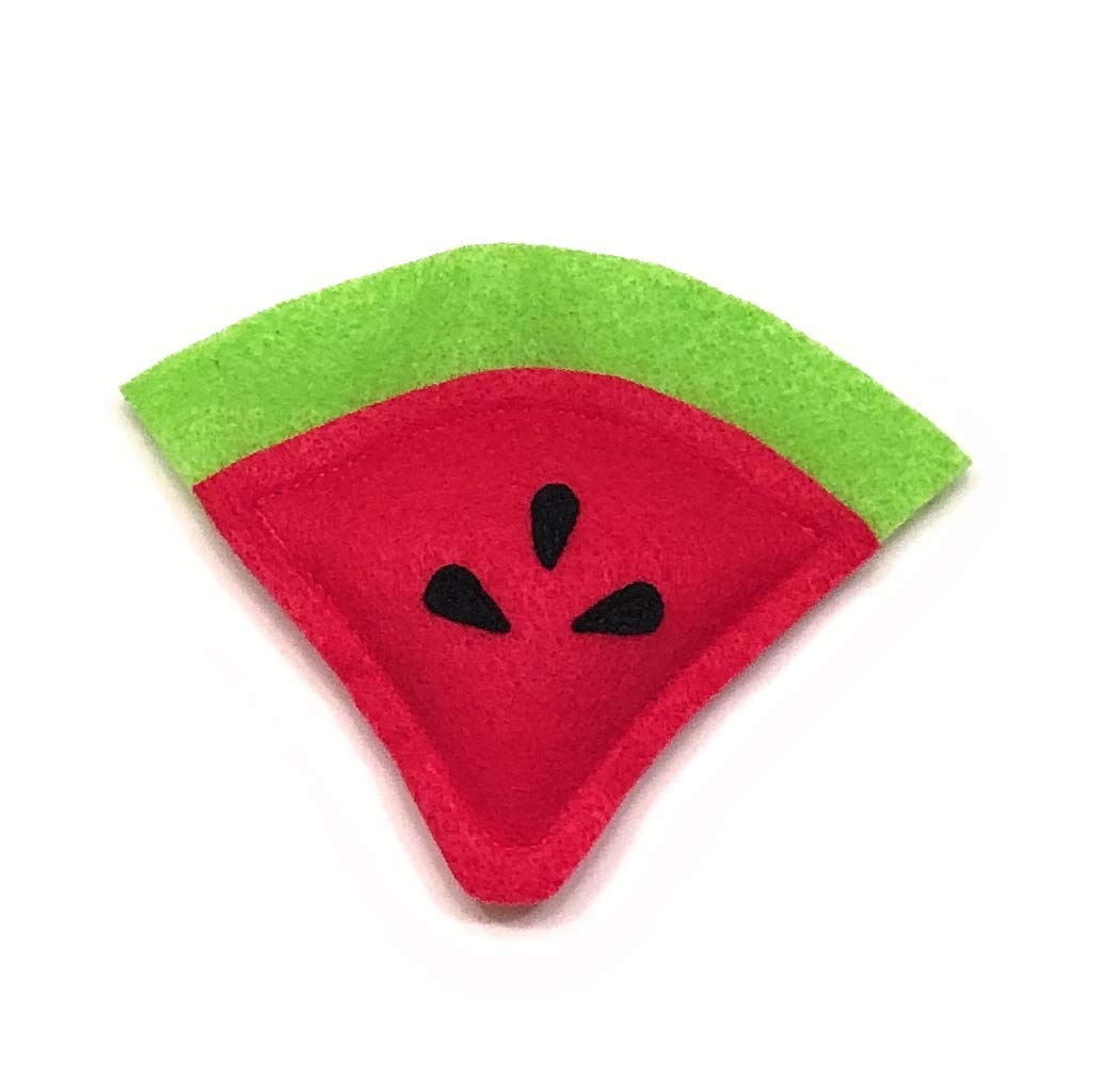 Watermelon Slice Limited time trial price Catnip free Toy Cat