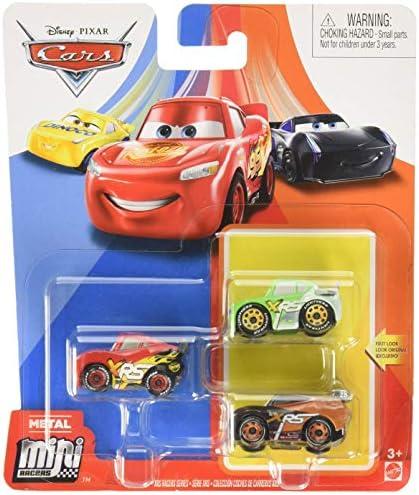 Mattel Pixar Cars Mini Racers XRS Racers Brick Yardley Tim TREADLESS GKG63 product image