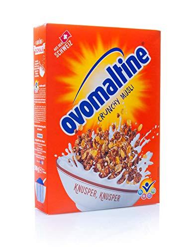 Ovaltine Crisp Muesli, 500 g   met vitamines magnesium en calcium
