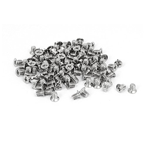 Computer PC Case 3.5-inch HDD 6#-32 Flat Phillips Head Hard Drive Screw 100pcs