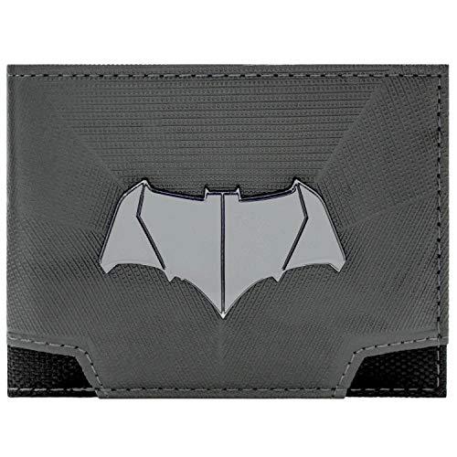 DC Comics Batman Superman emblème Bat Gris Portefeuille