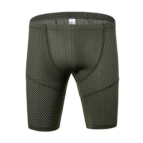 Calzonas hombre,Pantalones cortos informales sexis para hombre, pijama transparente de malla pantalones para dormir pantalones deportivos deportivos mallas transpirables ropa de estar calzoncillos lar