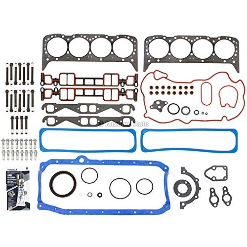 Mizumo Auto MA-4216923553 Full Gasket Set Head Bolts Compatible With/For 96-00 Cadillac GMC Chevrolet 5.7L OHV VORTEC