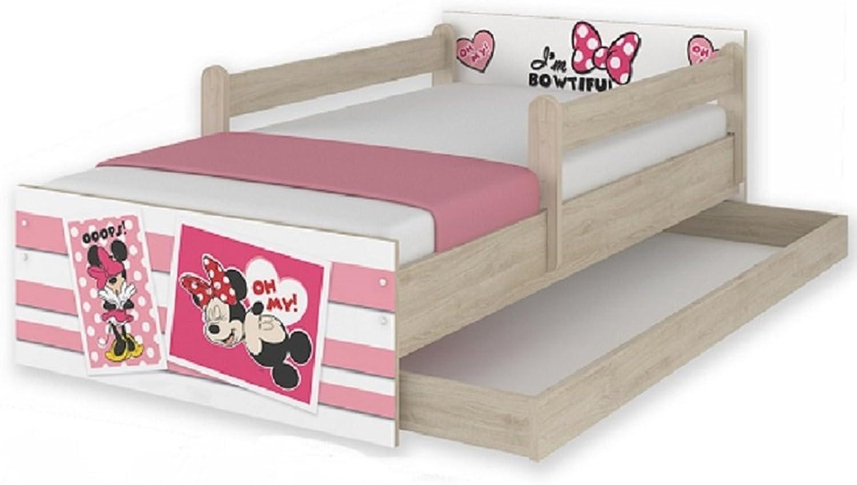 marca Hogartrend NUEVOS Modelos 160x80 Camas Infantiles Disney Minnie Minnie Minnie UPS (Cajon y barandillas)  Para tu estilo de juego a los precios más baratos.