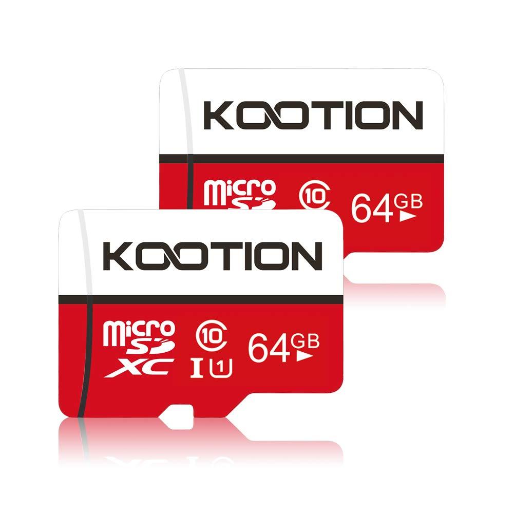 64 GB 64GB Micro SD Card 2 Pack Ultra Micro SDXC Memory U1 Card Class 10 Micro SD Cards 64GB High Speed TF Card R Flash U1 2 Pack C10