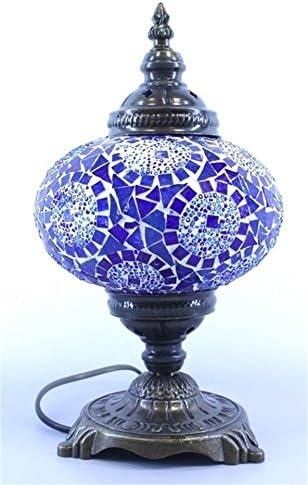 Mosaic Popular brand Lampshade Table Desk Lighting Tiffany Fort Worth Mall Authentic Handmade