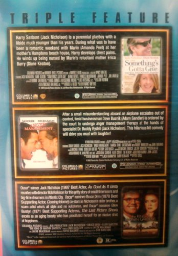 Jack Nicholson Triple Feature Something's Gotta Give / Anger Management / The King Of Marvin Gardens