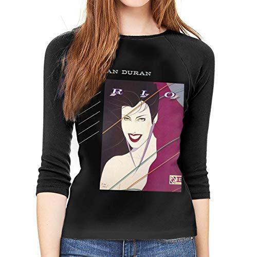 Duran Duran Rio 3/4 Length Long Sleeve Shirt for Women, S to XXL