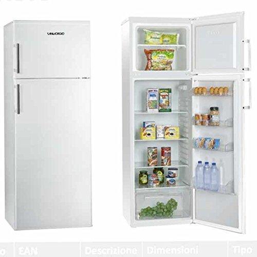 SanGiorgio SD24SW Libera installazione 215L A+ Bianco frigorifero con congelatore