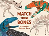 Laurence King Publishing Match These Bones: A Dinosaur Memory Game (Educational Game for Kids)