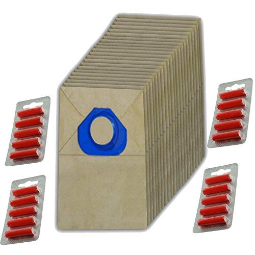 Spares2go papier Sacs à poussière pour aspirateur Nilfisk (lot de 20 + 20 désodorisants)