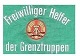 LAGERMAULWURF.de Armbinde Helfer der Grenztruppen, NVA, Faschingsartikel Ostalgie FDJ Museum