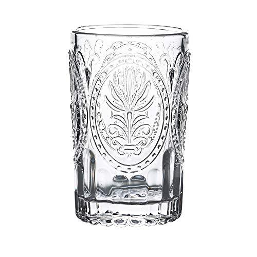La Fee Cora Vintage Vasos de 40 ML – Juego de 4 – Vasos Altos de cóctel