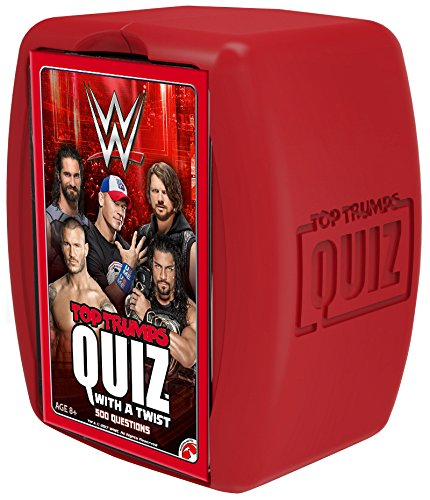 Top Trumps Wwe Quiz Game Wwe Top Trumps Quiz