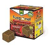 FUEGO NET Fuegonet 231389 Pastillas, Blanco, 12.9x7.5x13.5 cm