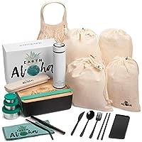 20-Piece Earth Aloha Zero Waste Bamboo Lunch Kit