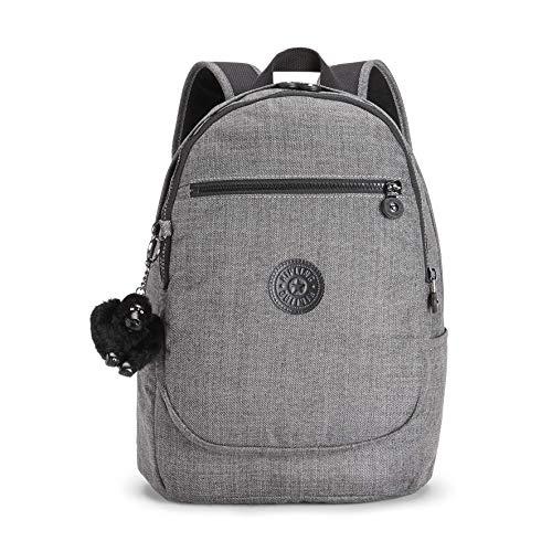 Kipling Unisex-Erwachsene CLAS Challenger Rucksack, Grau (Cotton Grey), 15x24x36 Centimeters