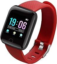 UIEMMY slim horloge Sport slimme paar horloges draagbare waterdichte stappenteller bluetooth hartslag slaapbewaking voor k...