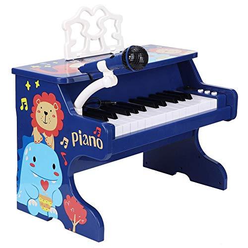 Toy Piano Keyboard, Plastic Infant Kid Early Educational Mini Piano Toy Simulation Muziekinstrument Voor Het Ontwikkelen Van Hand-Oogcoördinatie En Het Aanmoedigen Van Muziekcreativiteit.