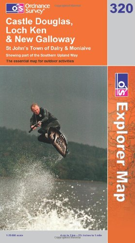 OS Explorer map 320 : Castle Douglas, Loch Ken & New Galloway