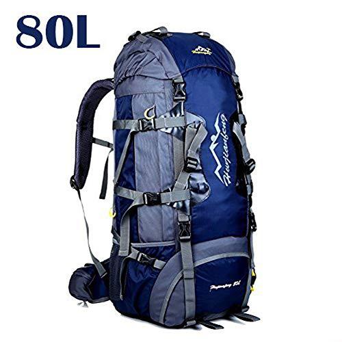 Mochila de 50 80L   ideal para deportes al aire libre  Senderismo  Trekking  Camping
