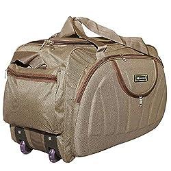 N Choice Waterproof Polyester Lightweight 30 L Luggage Travel Duffel Bag with 2 Wheels,N Choice Enterprise