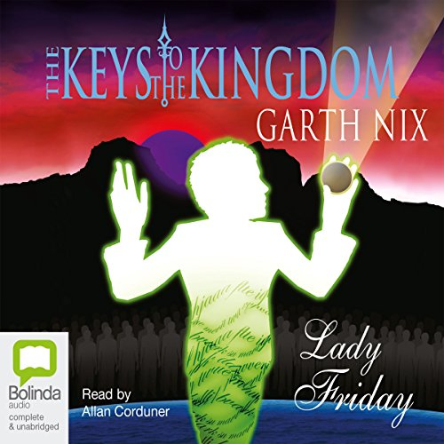 Lady Friday audiobook cover art