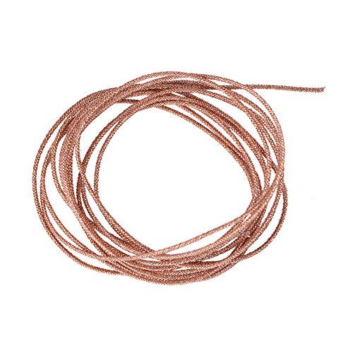 VBESTLIFE luidsprekerkabel subwoofer Lead Wire Repair 8 strengen gevlochten koperdraad