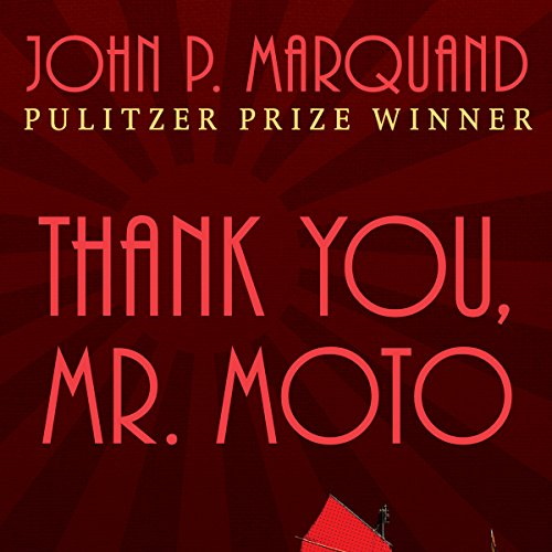 Thank You, Mr. Moto audiobook cover art