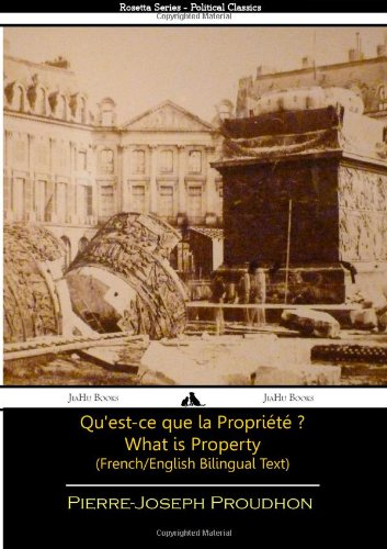 What is Property? - French/English Bilingual Text