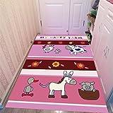 WXDD Schönes Kinder Teppich Wohnzimmer Bett Matratze Home Princess Zimmer Krabbeln pad Maschine...